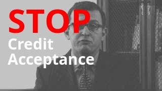 Credit Acceptance Calling? | Debt Abuse + Harassment Lawyer