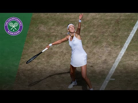 Victoria Azarenka v Heather Watson highlights - Wimbledon 2017 third round