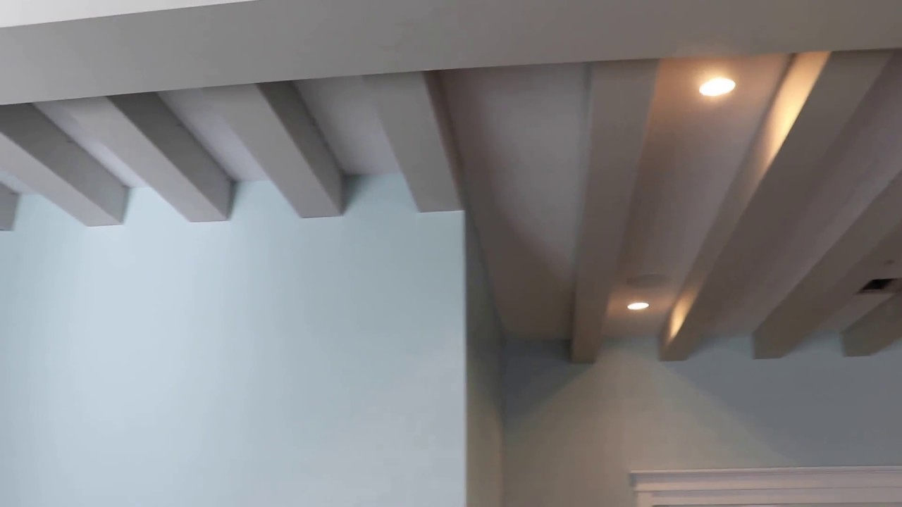Drywall Beams and Soffits in 1 day - YouTube