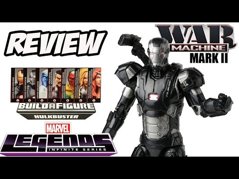 Review War Machine Mark II - Marvel Legends Hulkbuster