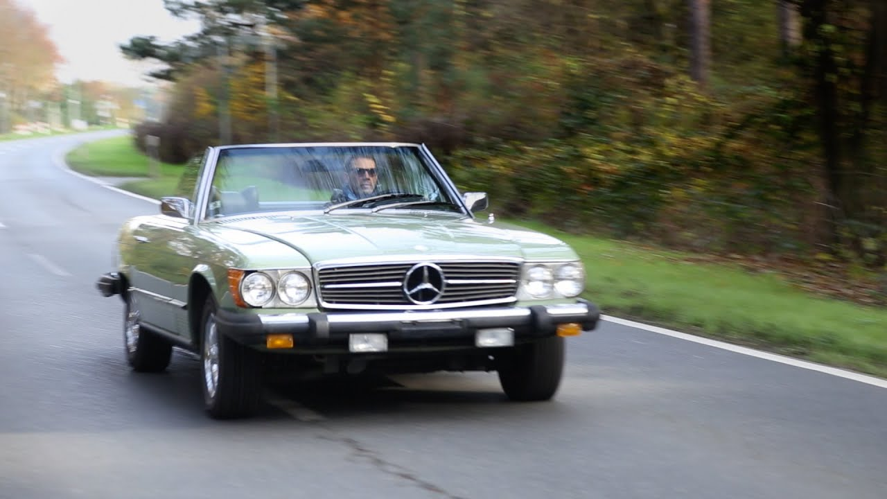 Oldtimer kaufen - Classicbid - Mercedes 450SL Fahrbericht