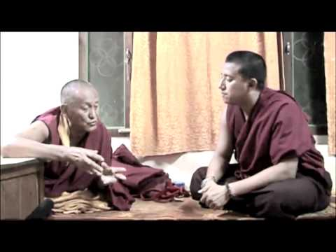 Interview with High Lamas of Gaden Monastery - Gen Gelong
