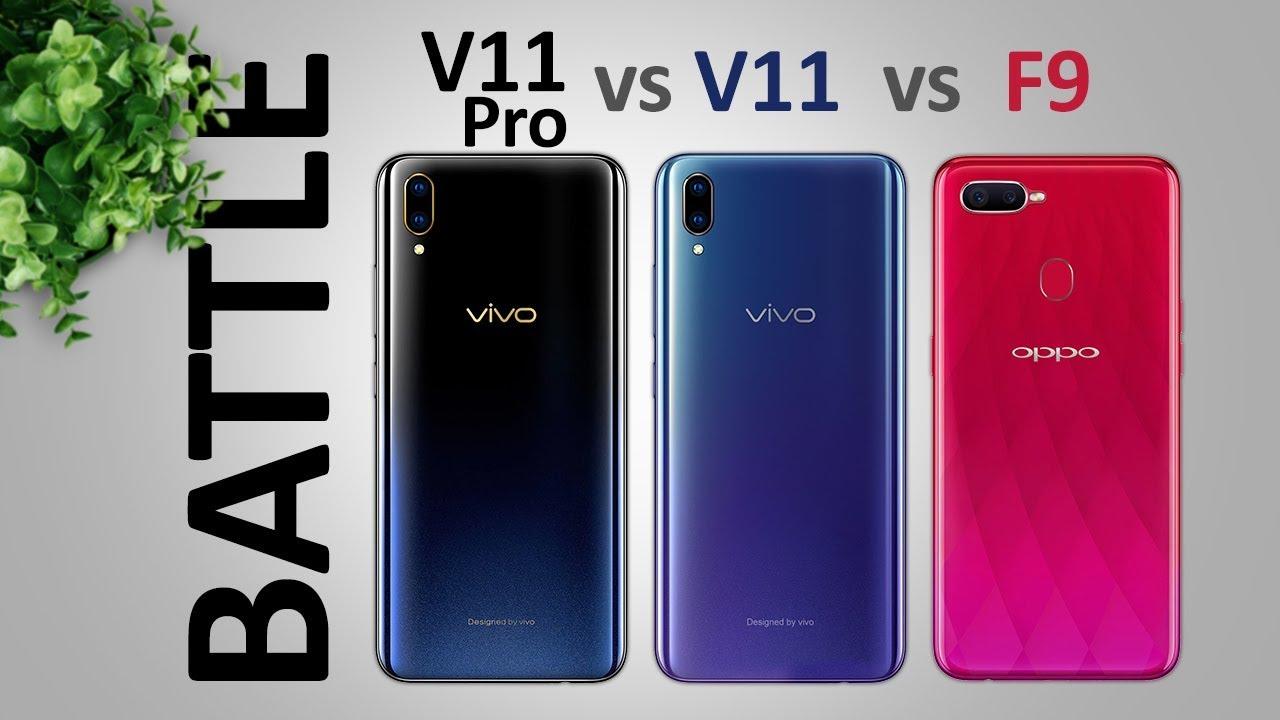 Vivo V11 Pro Vs V11 Vs Oppo F9 Perbandingan Spesifikasi Dan Harga