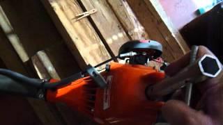 Jak nastartovat - opravit sekačku, křovinořez. 2