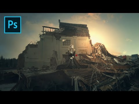 Photoshop Tutorial - Make Dramatic Photo Manipulations of Destroyed Buildings thumbnail