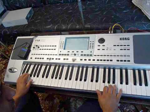 Juzisound Keyboard Enhancer - KORG PA50 - Makedonsko: KORG PA50 with Juzisound Keyboard Enhancer. MIDI effect terca!