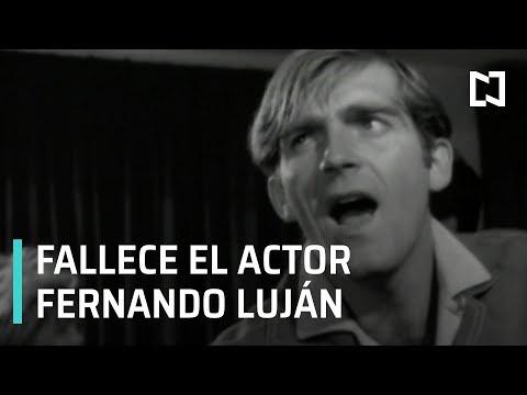 Muere el actor Fernando Luján - A las 3