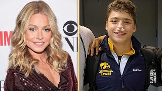 Watch Kelly Ripa Explain How Son Joaquin BROKE HIS NOSE and TAMPONS Saved the Day!