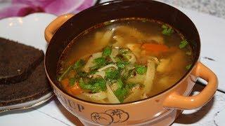 Легкий куриный🥘 суп-лапша в мультиварке. Рецепт за 180 руб.