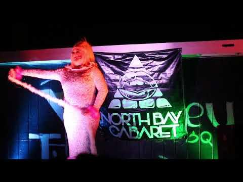 Patty La Melt in North Bay Cabaret's Flirtin' With Burton