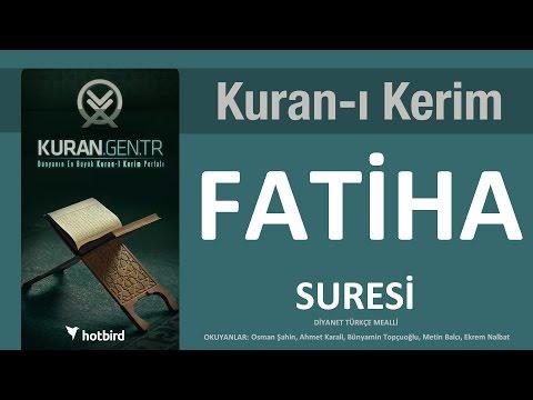 Fatiha Fatiha Suresi Ramazan Kuran Diyanet Meal Islam Muslim Ramadan Arabic Quran