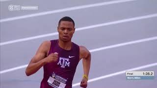 Men's 800m - 2019 SEC Outdoor Championships