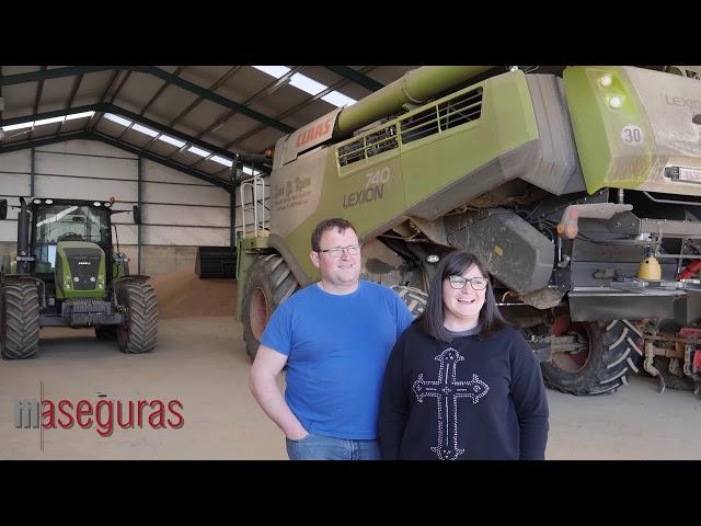 Jose Manuel y Ana, clientes de Aseguras