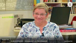 Marie-Hélène Bourlard (PCF):  «Au Luxembourg, ils ont un SMIC à 2000 € par mois. Pourquoi pas nous?»