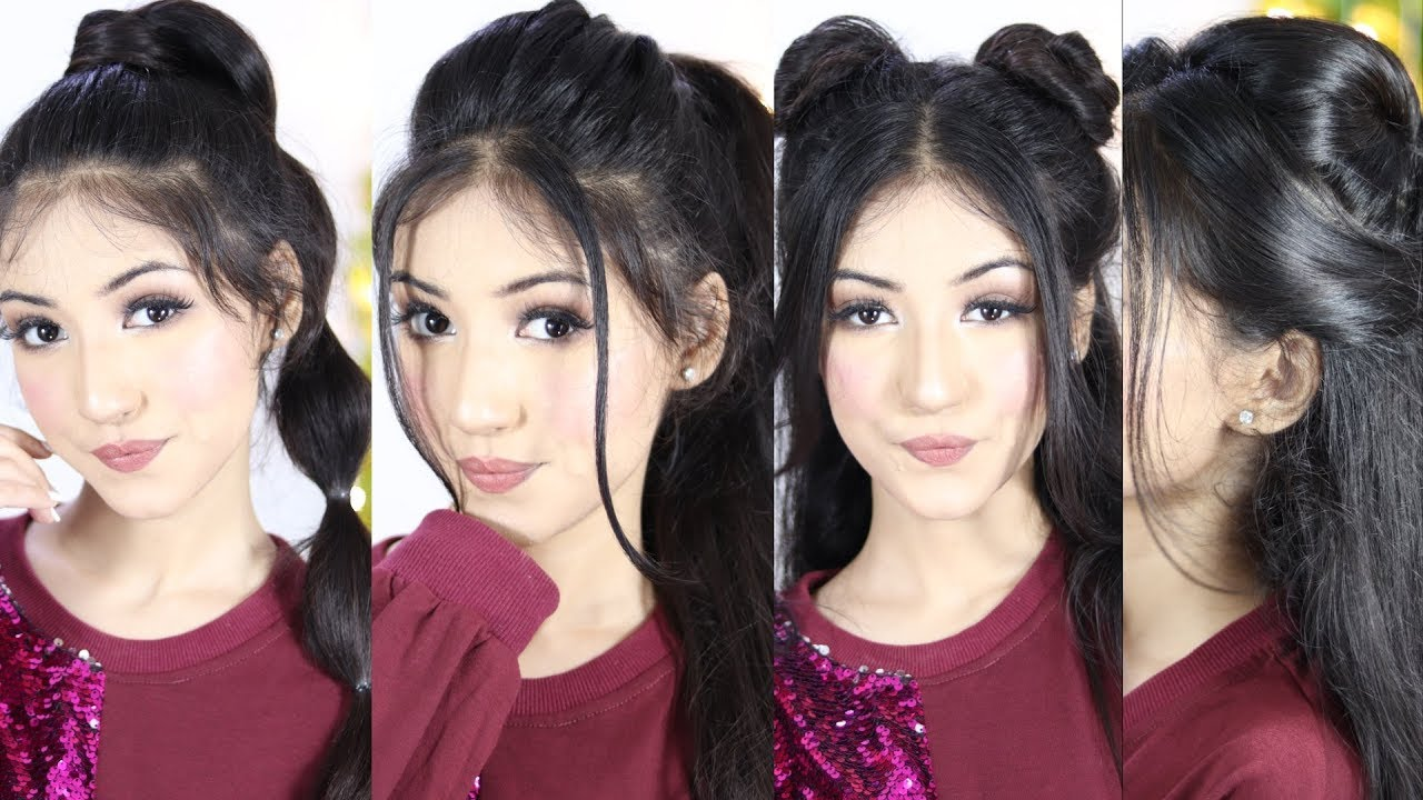 My Daily Favorite Hairstyle 2019 For Girls Beautiful Hairstyle For Long Hair Youtube