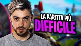 La partita PIÙ DIFFICILE della SEASON 9! | FORTNITE ITA