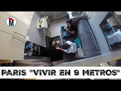 PARIS 'VIVIR EN 9 METROS ' UNA DURA REALIDAD #unamexicanaenparis