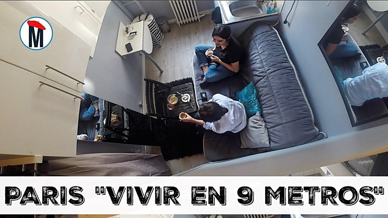 PARIS VIVIR EN 9 METROS  UNA DURA REALIDAD