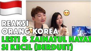 Orang Korea Reaksi Lesti & Zainatul Hayat  Ina  Be