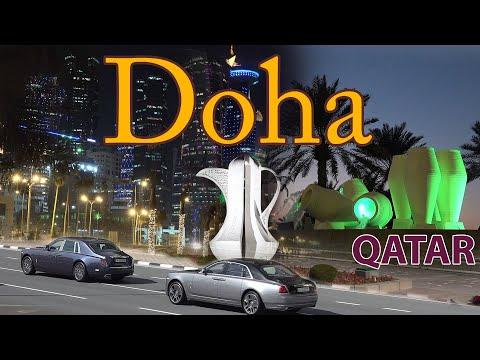 Doha Qatar 4K.