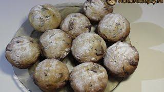 Маффины шоколадные / Chocolate muffins   Видео Рецепт