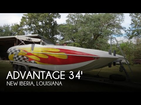 Used 2005 Advantage 34 Party Cat TRX for sale in New Iberia, Louisiana