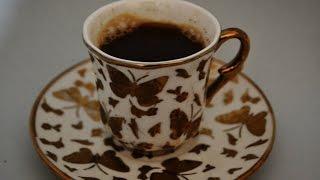Как приготовить турецкий кофе в микроволновке ? (Türk kahvesi mikrodalgada )
