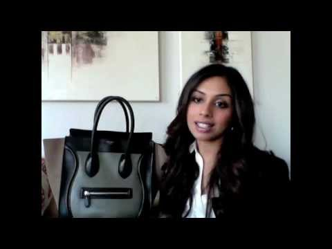 Handbag Review: Celine Luggage Tote Handbag Bag - YouTube