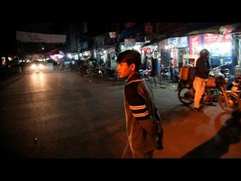 A Boy Fends For Himself On The Streets Of Pakistan