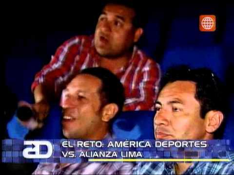 América Noticias: Mira todo el reto entre América Deportes y Alianza : jugaron un partido de 'play'