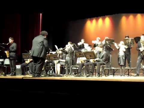 "Montgomery HS Jazz Festival 4/12/13: Montgomery High School Jazz Band (""The End Of A Love Affair"")"