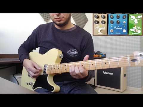Fender Cabronita + Fuhrmann (Reverb, Echoes e Tube Drive)