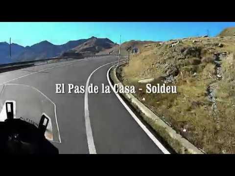 Beautiful Scenery and Roads in Andorra