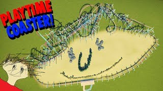 I Turned Playtime Into A DEADLY ROLLER COASTER! (Baldi World Theme Park) | Planet Coaster