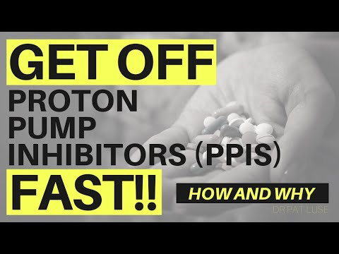 Proton Pump Inhibitors (PPIs) are hurting you! How To Get Off Them Fast -Treat Heart Burn Naturally.