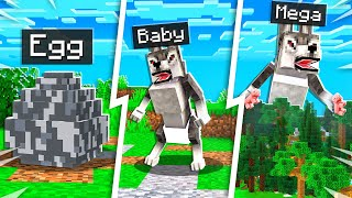 How to Tame a Pet BABY WEREWOLF in Minecraft!