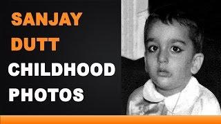 Sanjay Dutt Childhood Photos