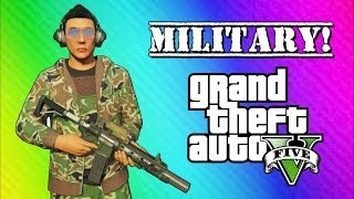 GTA 5 Online Military Edition: Operation Smoked Bacon (GTA 5 Online Funny Moments & Skits) thumbnail