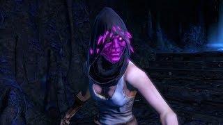 Path of Exile: Purple Crystal Helmet