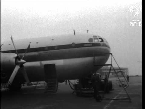 Stratocruiser At Heathrow (1951)