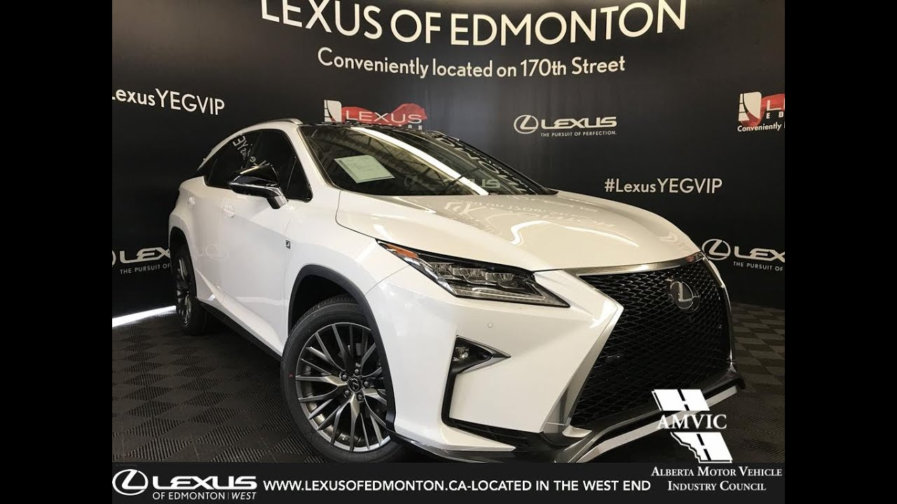 2019 Lexus RX 350 F Sport Series 3 Review