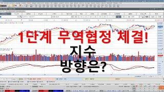 [주식시황] 1단계 무역협정 곧 체결 지수 방향은? /…