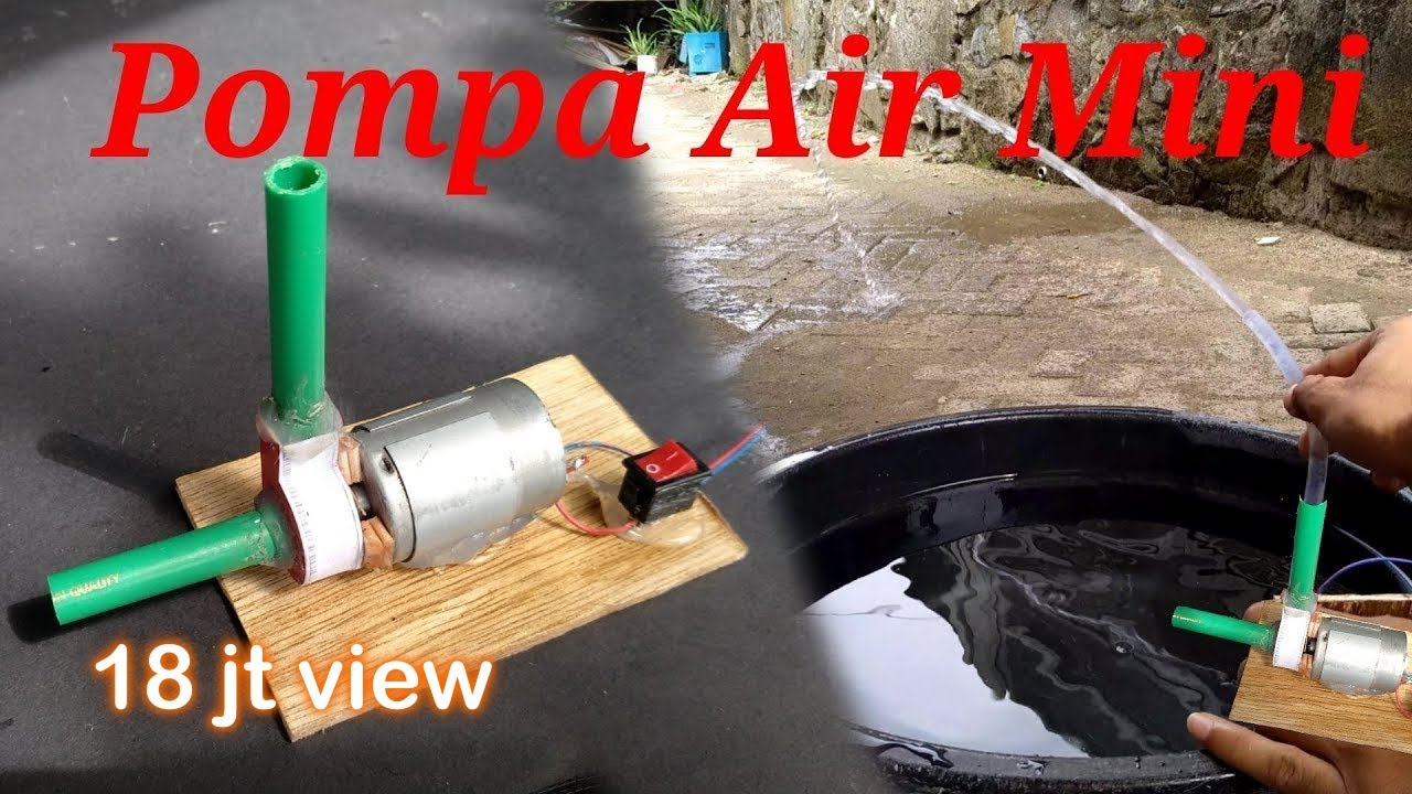 How To Make A Mini Water Pump From A Used Card