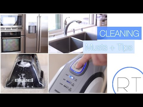 My Cleaning Habits & Must Haves