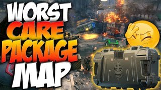 The Worst Carepackage Map In Call of Duty History! BO4 Live!