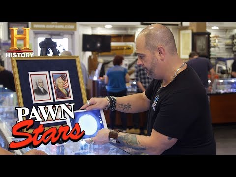 Pawn Stars: Personal Check Signed By James Madison (Season 15) | History