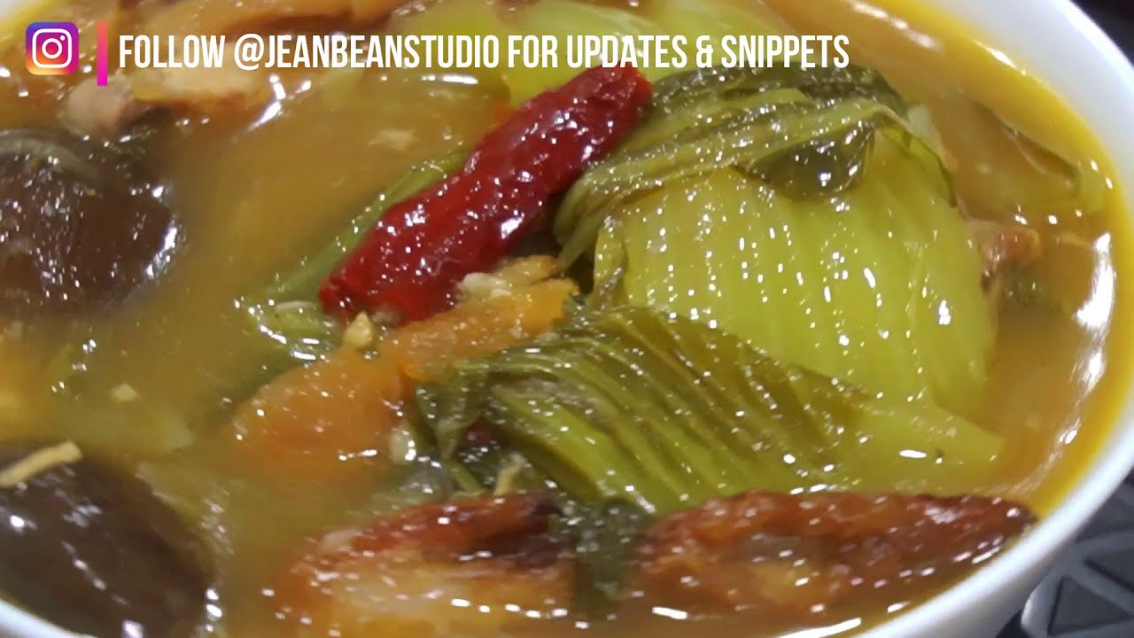 Download Chai Boey/ Mustard Green Soup (3 S Soup- Spicy, Sour, Savoury)