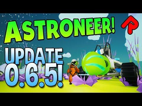 Better Rovers! Power Splitters! New Platforms! | Astroneer 0.6.5 Update (Base Building)