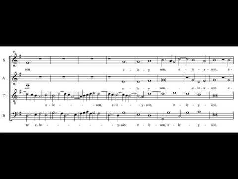 Janequin Missa La Bataille - Kyrie