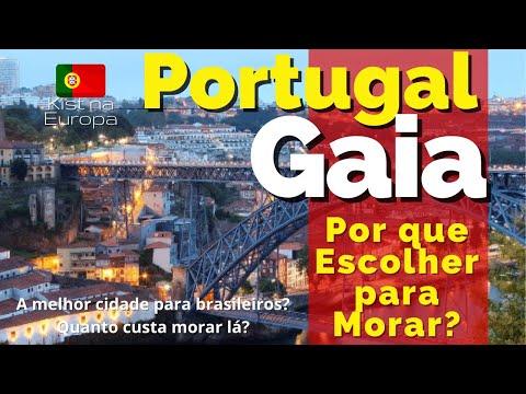 Porto - VILA NOVA DE GAIA por que Escolher  em PORTUGAL? Você precisa ver. 🇵🇹